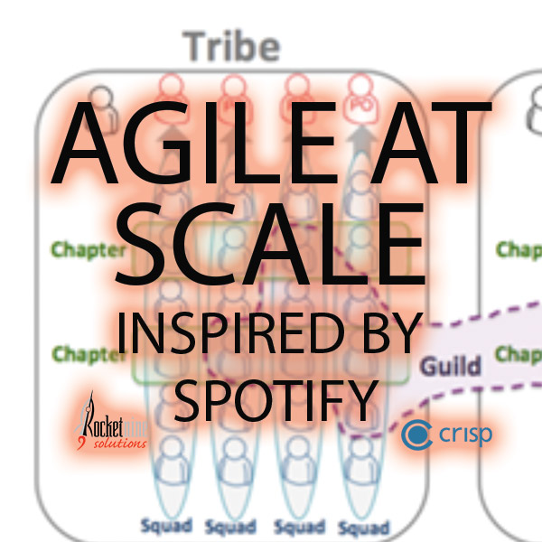 agile at scale inspired by Spotify, extreme programming, agile technical practices, advanced agile training