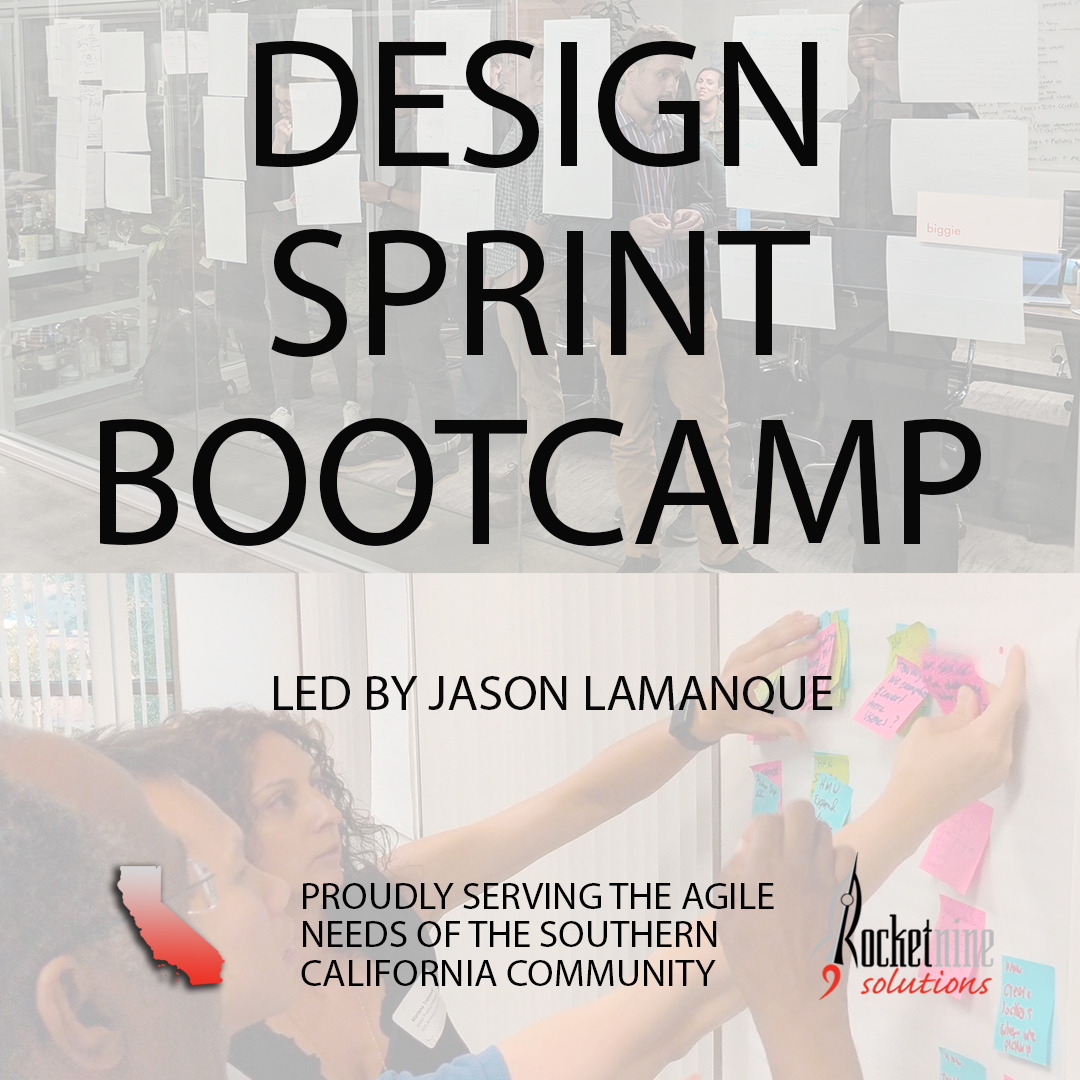 design sprint training, sprint knapp, market testing, Design Sprint Bootcamp, how to run a design sprint
