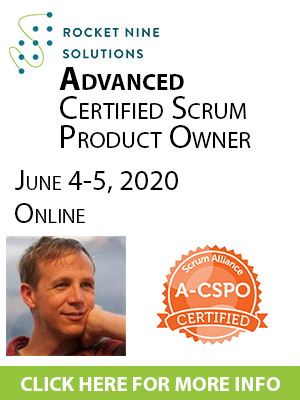 online advanced certified scrum product owner training