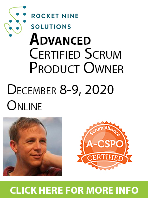 online advanced certified scrum product owner training a-cspo
