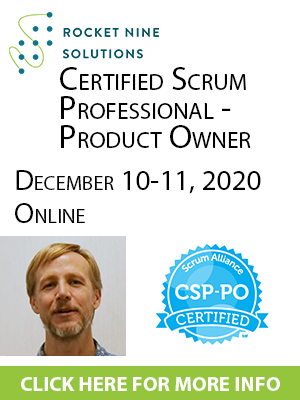 online certified scrum professional product owner training csp-po