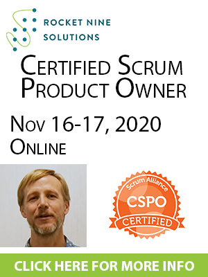 online certified scrum product owner training