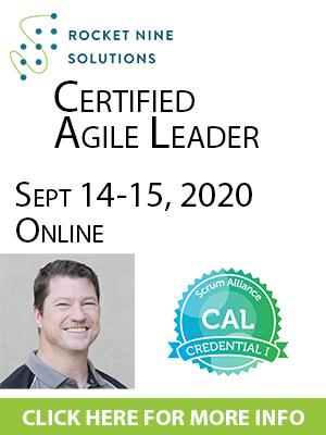 online certified agile leadership training