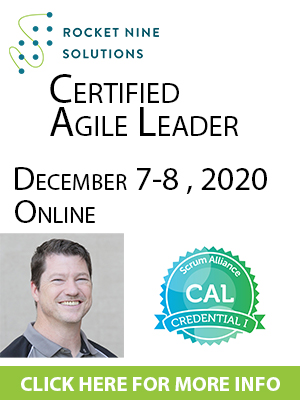 online certified agile leadership training