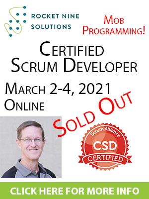 certified scrum developer training