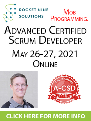 online advanced certified scrum developer training