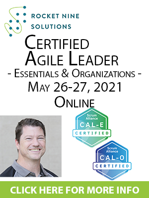 online certified advanced scrum master training