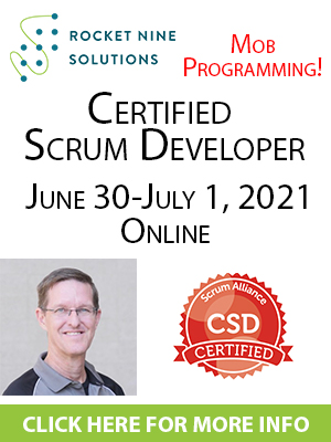 online certified scrum developer training