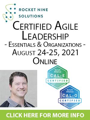 online certified agile leadership training, leading agile transformations training