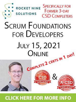 online certified scrum developer training